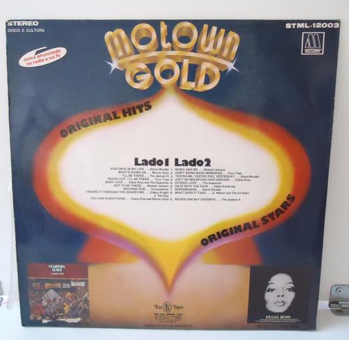 lp motown gold - selo top tape - 1976 - by trekus vintage