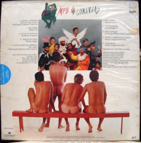 lp - mpb 4 - 4 coringas  - 1984 barclay -estéreo  c/ encarte