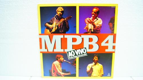 lp - mpb 4 - ao vivo do show amigo é pra essas coisas