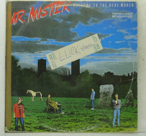 lp mr. mister  welcome to the real world -  me033