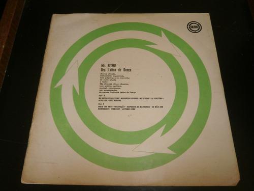 lp mr. ritmo - orquestra latina de dança, disco vinil