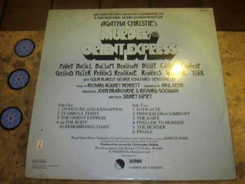 lp murder orient express (1974) royal opera house
