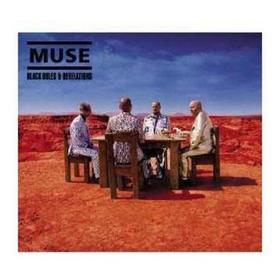 Lp Muse, Black Hole And Revelation, Vinilo Nuevo Y Sellado!