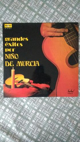 lp música espanhola nino murcia grandes exitos vinill raro