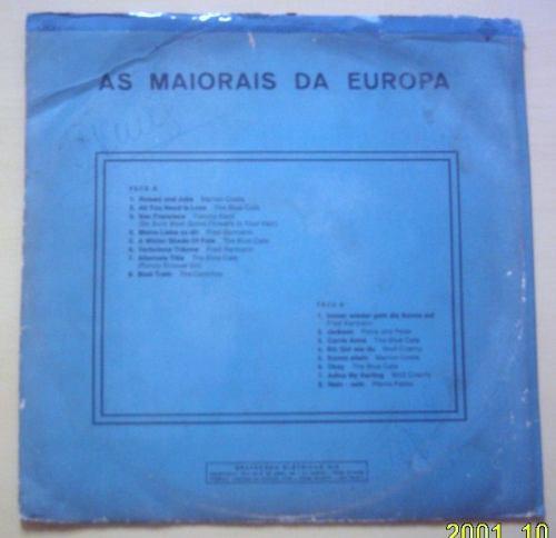 lp musica para todos as maiorais da europa