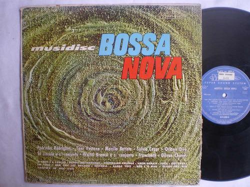 lp - musidisc bossa nova -com waltel branco / musidisc