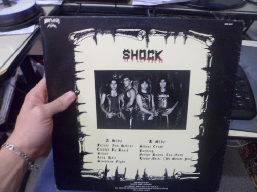 lp nacional - shock - heavy metal we salute you...- frete 15