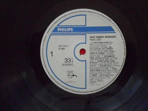lp nara leão p/1987- meus sonhos dourados
