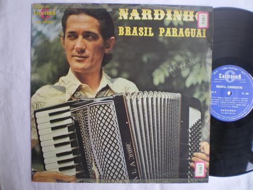 lp - nardinho / brasil paraguai / california cl-488