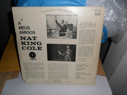 lp nat king cole - a meus amigos