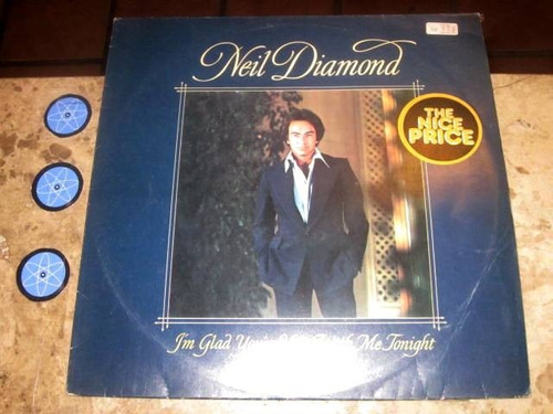 lp neil diamond - i'm glad you're here with me tonight (78)