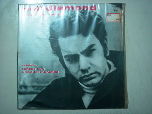 lp neil diamond -velvet glove and slpit