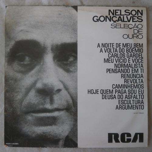 lp nelson gonçalves 1970 seleção de ouro, disco de vinil