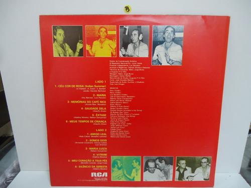 lp nelson gonçalves produção 96 selo rca 1981 trekus vintage