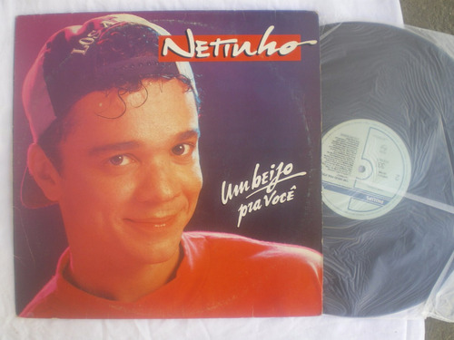 lp - netinho / um beijos pra voce / philips / 1993