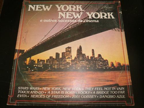 lp new york, new york, e outros sucessos do cinema, ano 1984
