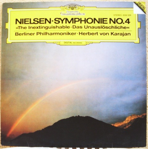 lp nielsen symphonie nº 4 1986 orq. filarm. berlim - karajan