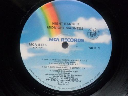 lp night ranger midnight madness
