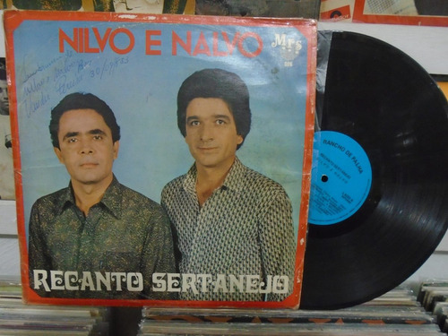 lp - nilvo e nalvo / recanto sertanejo / 1983