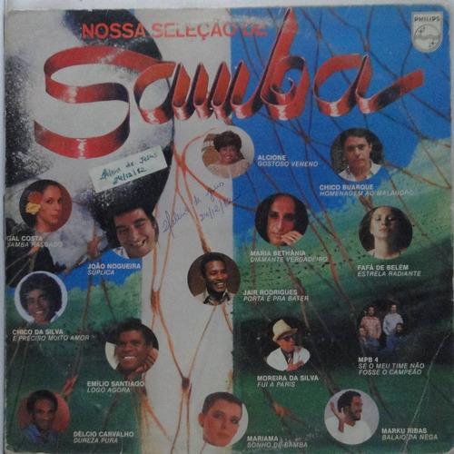 lp nossa seleção  de samba -  n055
