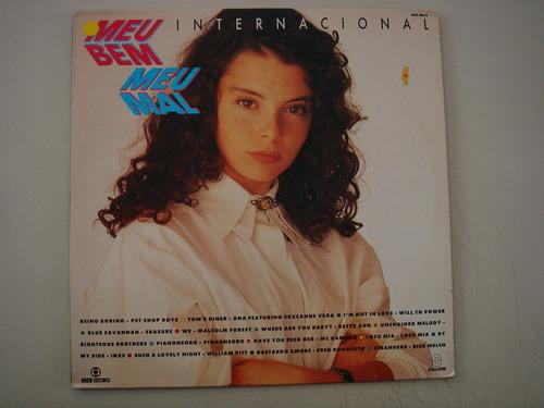 lp - novela - meu bem meu mal- internacional - 1991