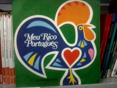 lp - novela -  meu rico português - intern. 1975 frete 10,00
