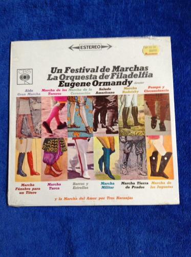 lp nuevo un festival de marchas la orquesta de filadelfia