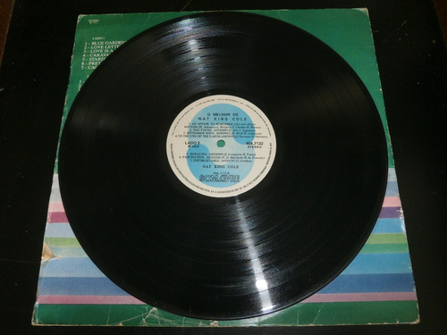 lp o melhor de nat king cole, disco vinil, ano 1979