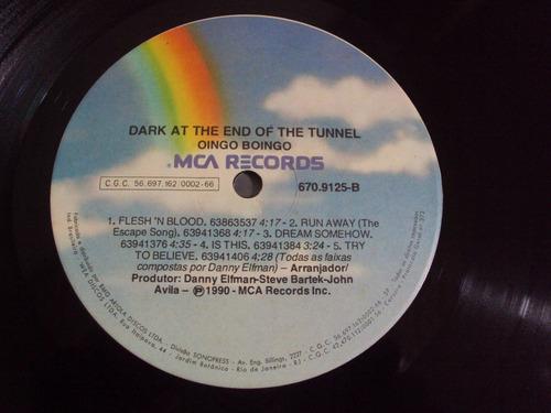 lp oingo boingo 1990 dark at the end of the tunnel + encarte