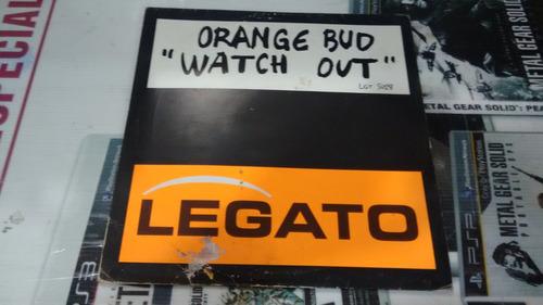 lp orange bud watch out en acetato,long play