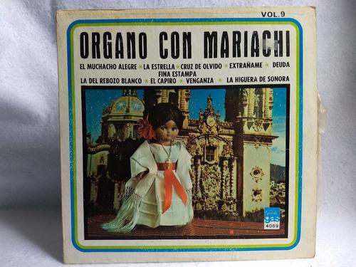 lp órgano con mariachi vol. 9