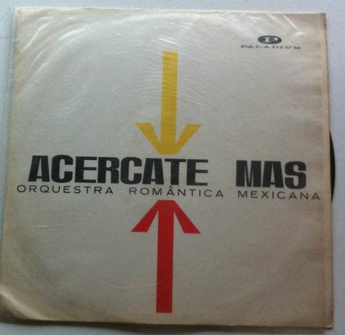 lp orq romatica mexicana - anos 60 boleros rumba merengue