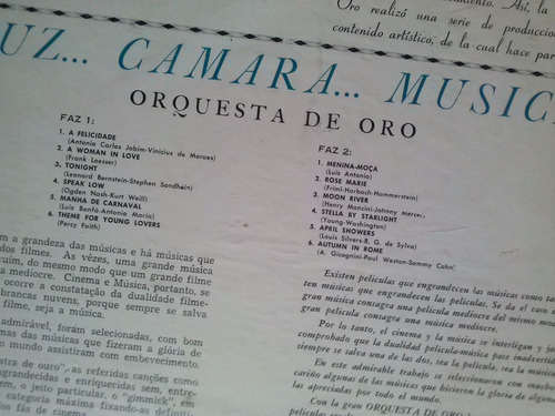 lp orquesta de oro melodias de oro vi