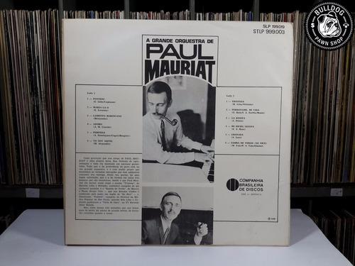 lp orquestra paul mauriat vol. 5  - veja o video - dj
