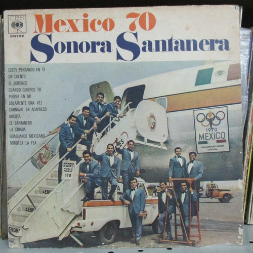 lp orquestra sonora santanera mexico 70