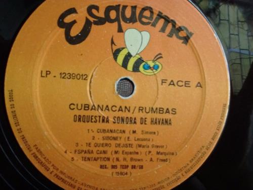 lp - orquestra tropical do caribe - cubanacan rumbas