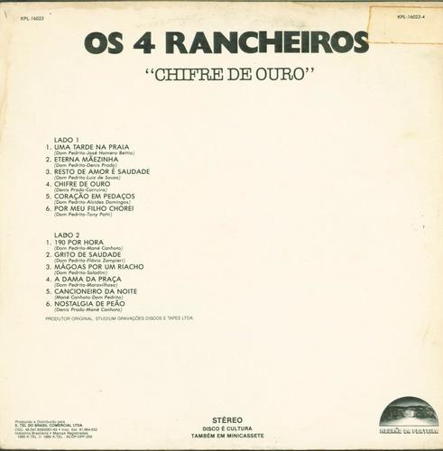 lp os 04 rancheiros -chifre de ouro