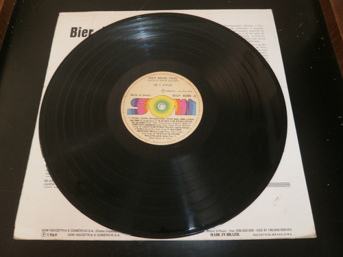 lp os 3 xirus, bier meine frau, disco vinil, ano 1969