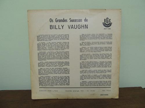 lp os grande sucessos de billy vaughn 1961