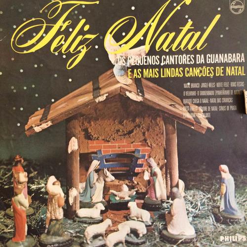 lp os pequenos cantores da guanabara ( feliz natal )