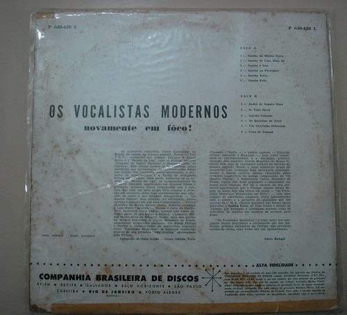 lp os vocalistas modernos  -novamente em foco