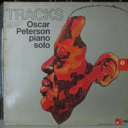 lp oscar peterson piano solo tracks edição made in germany