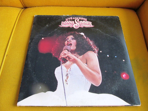 lp ótimo donna summer live and more duplo usa blues soul