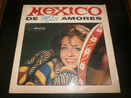 lp panchito delgado - mexico de mis amores, disco vinil