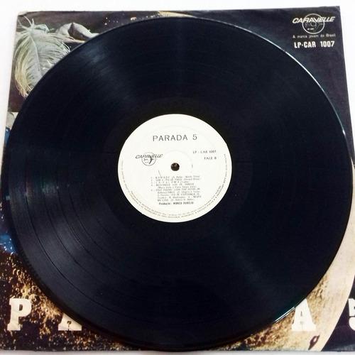 lp parada 5 1969 disco de vinil mpb jovem guarda