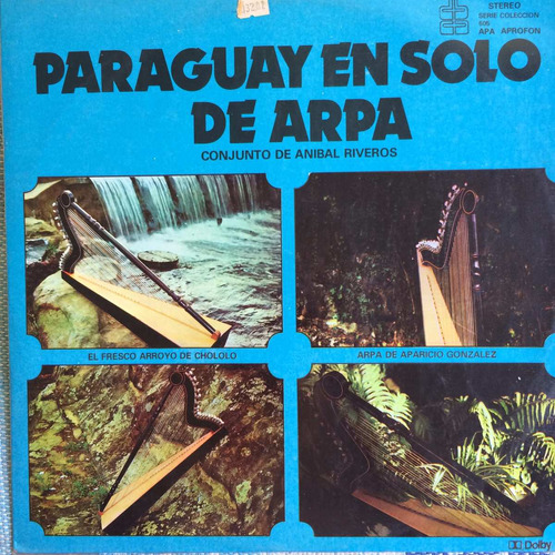 lp paraguay en solo de arpa