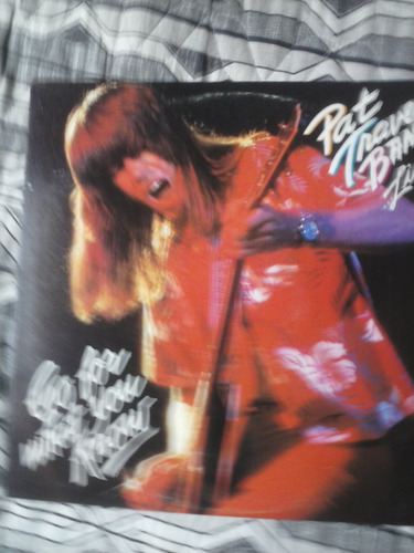 lp - pat travers band - go for what you know - importado