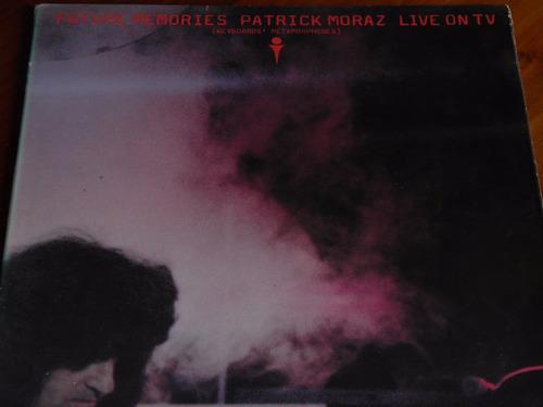 lp patrick moraz future memories live on tv importad francia