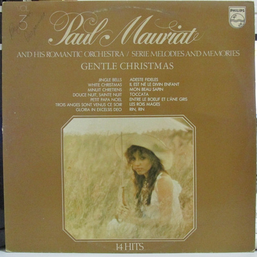 lp paul mauriat 14 hits vol 3 exx estado