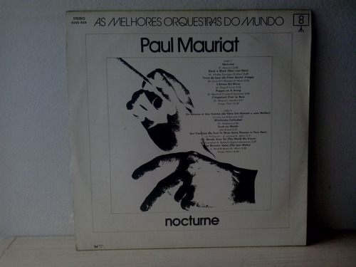 lp paul mauriat - nocturne